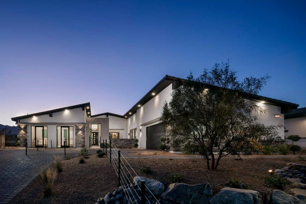 Home Builder Model Home Exterior