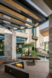 Modern Luxury Home Entrance