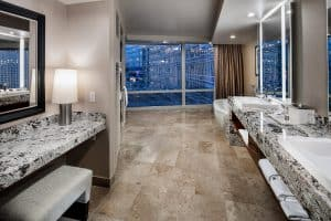 Aria Hotel and Casino Suite Master Bath