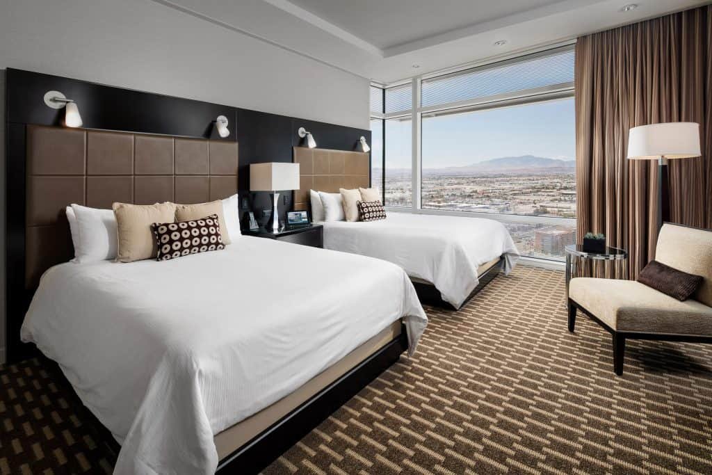 Aria Hotel and Casino Double Queen Suite