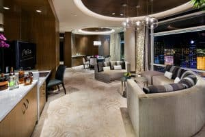Aria Hotel and Casino Luxury Sky Villa Suites