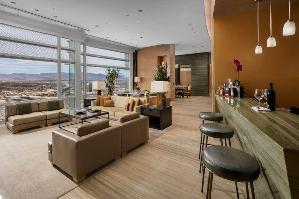 Aria Hotel and Casino Luxury Sky Suites