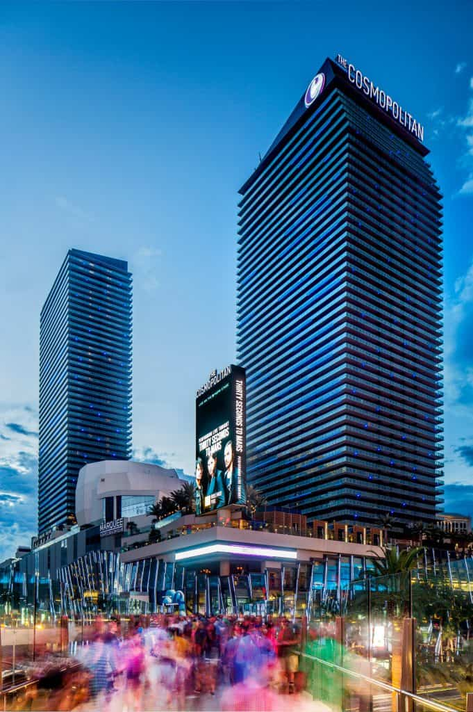 The Cosmopolitan of Las Vegas Luxury Hotel