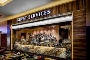 New York Hotel and Casino Guest Reception and Services