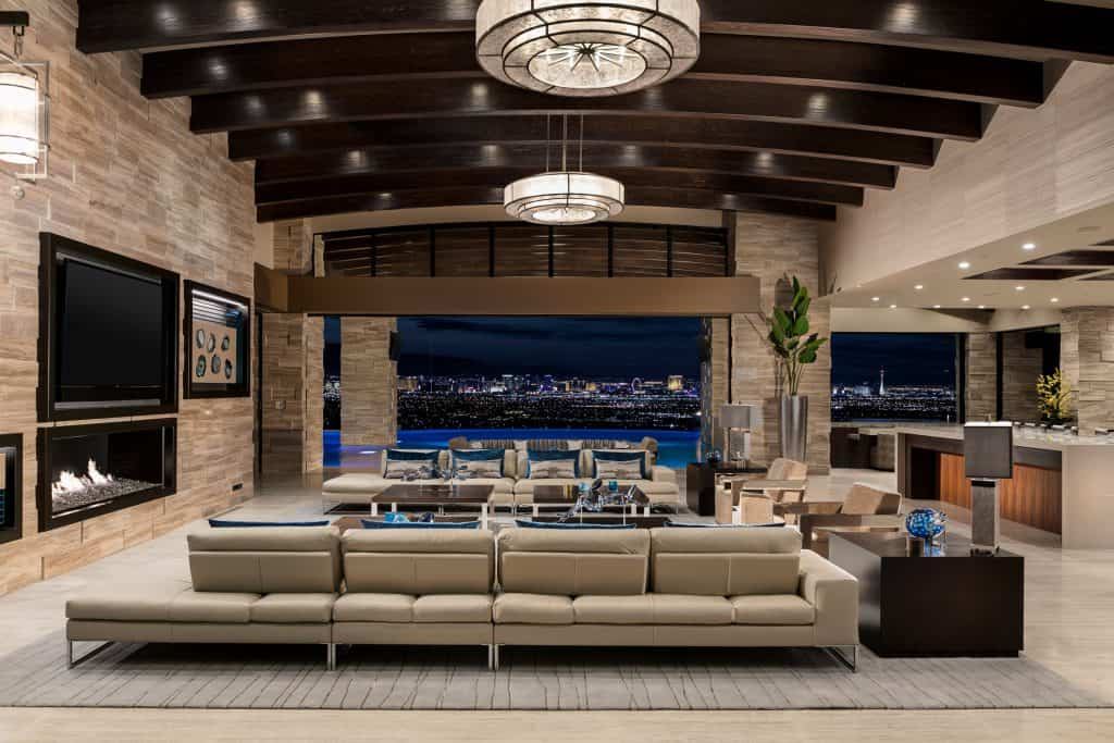 Las Vegas Luxury Home with a Stunning View to the Strip