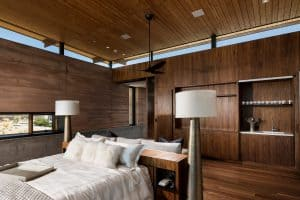 Custom Woodwork in Luxury Master Bedroom