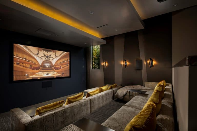 Ultra Luxury Home Cinema