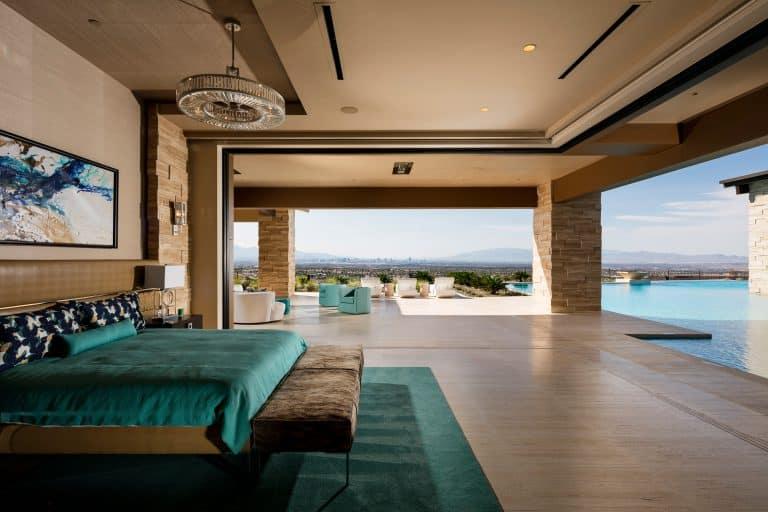Ultra Modern Luxury Villa Master Bedroom
