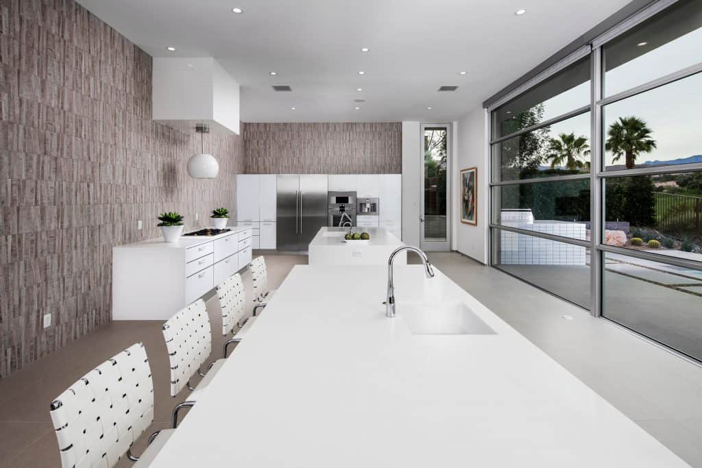 Ultra Modern White Kitchen