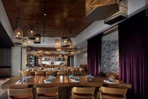 Modern Restaurant at Plano Dallas Renaissance Hotel