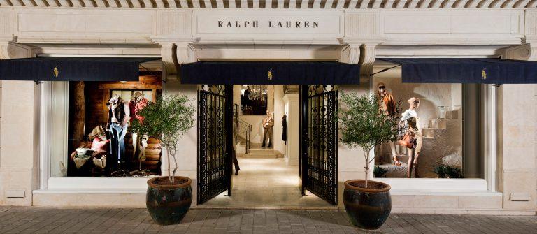 Ralph Lauren Retail Store Front