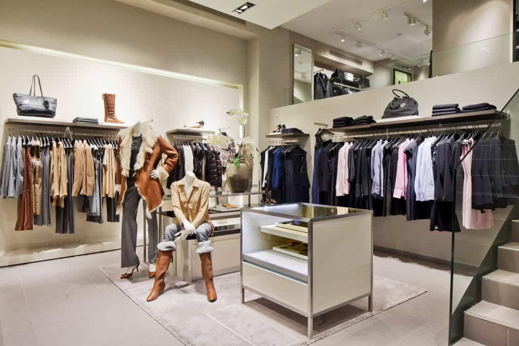 Hugo Boss Retail Store Photography