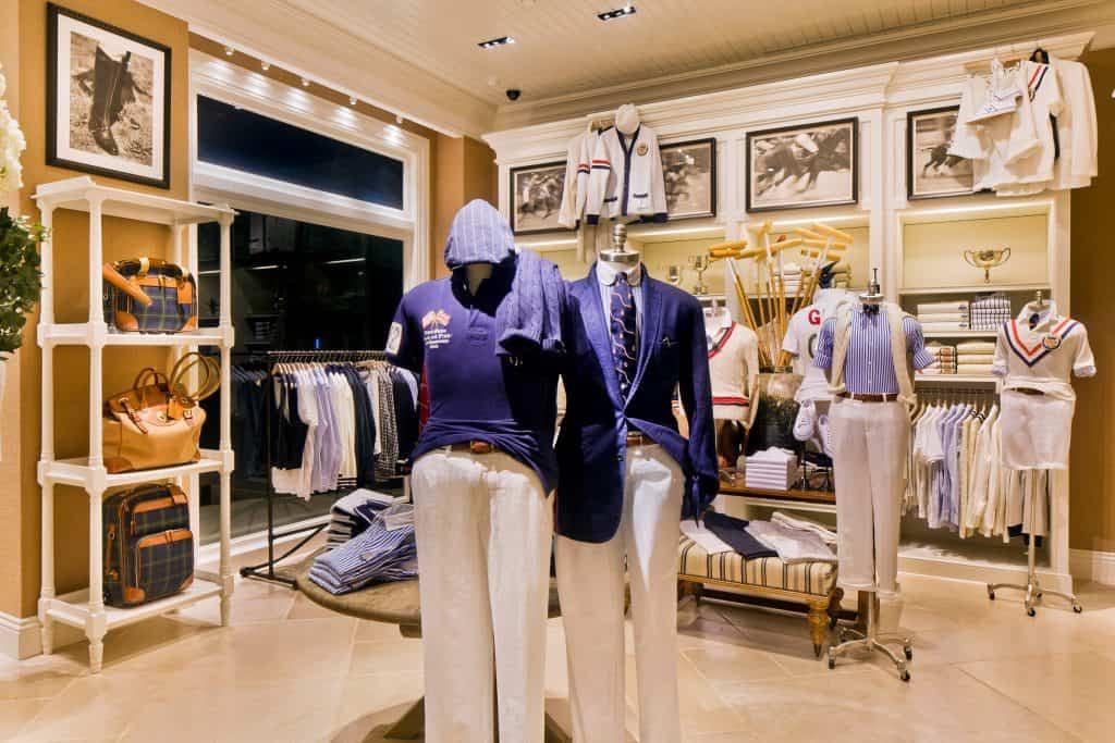 Ralph Lauren Retail Store Photography
