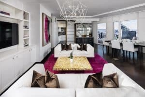 New York Upscale Living Room