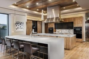 Luxury Modern Kitchen in L.A Mega Mansion