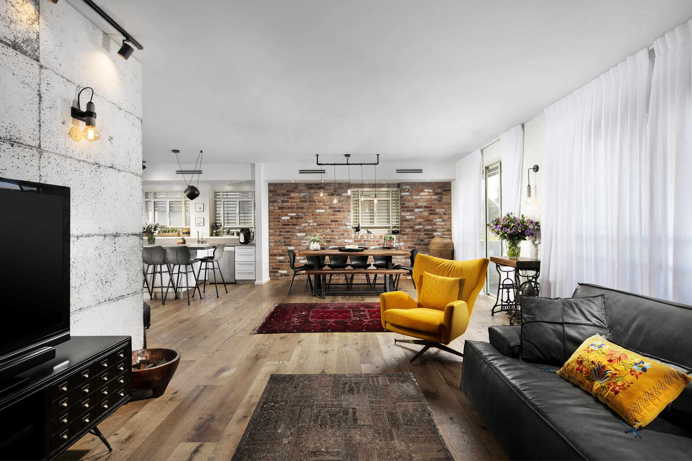 Behind a Manhattan Loft Interior Design Photoshoot
